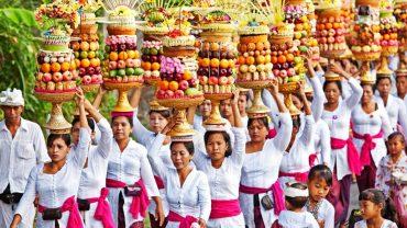 Banten Gebogan Balinais   Voyage Bali Indonésie en Circuit Privé avec Guide Francophone