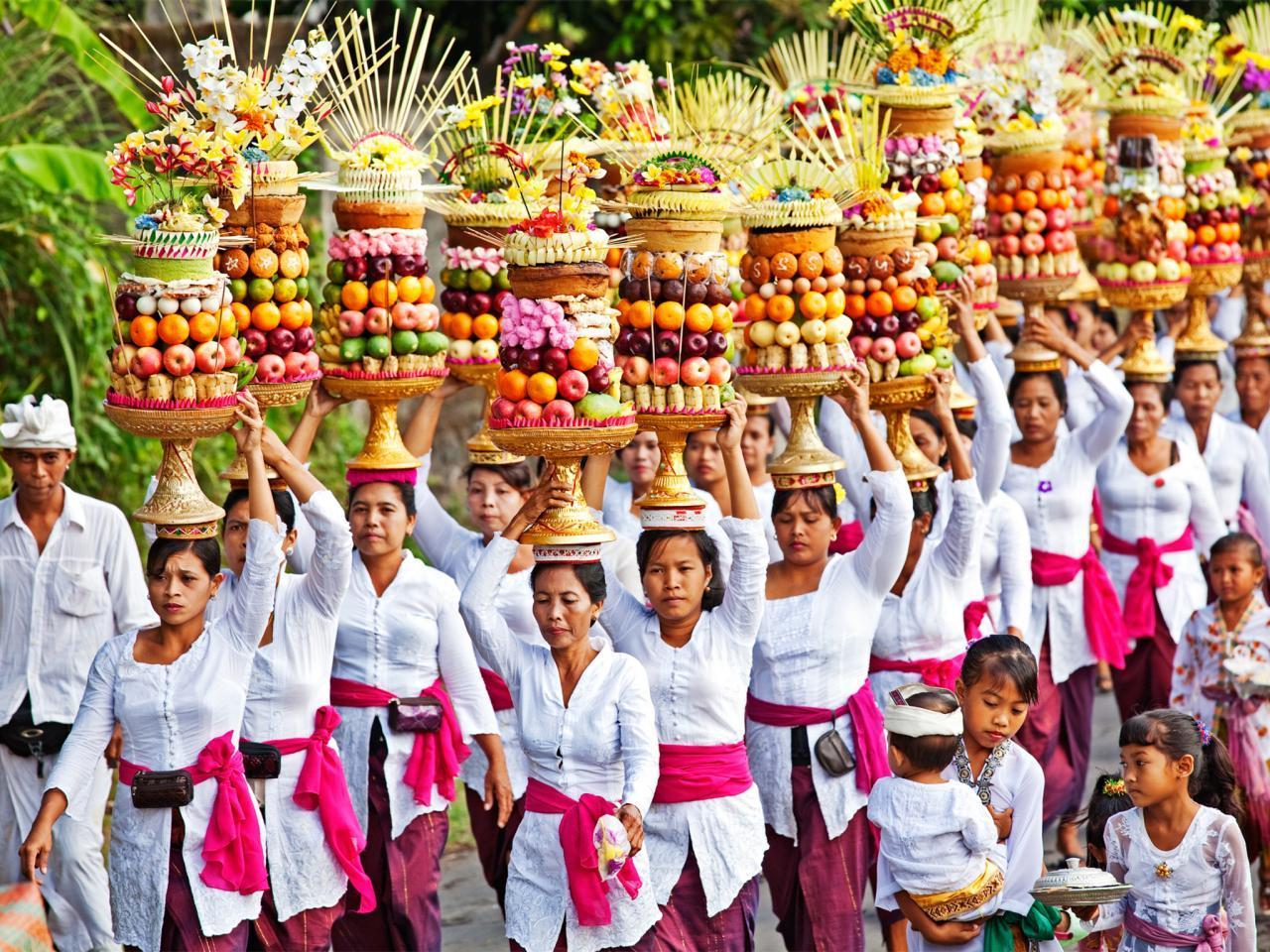 Banten Gebogan Balinais | Voyage Bali Indonésie en Circuit Privé avec Guide Francophone