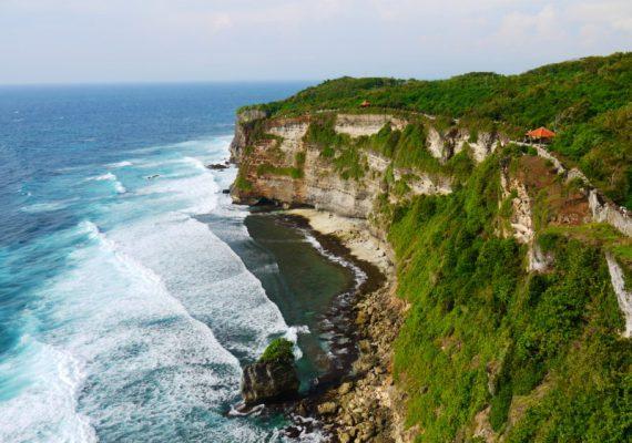 Pura Uluwatu et ses falaises | Bali Sud