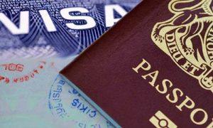 passeport et visa pour venir a Bali en indonesie
