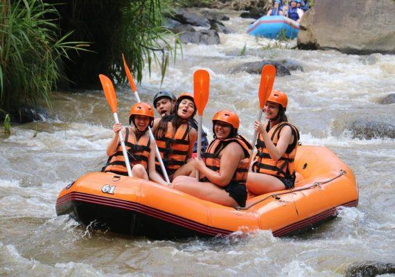 faire du rafting sur riviere Ayung Ubud